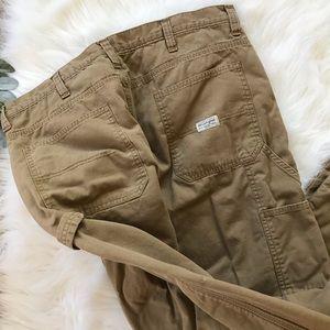 Men's Wrangler Fleece Lined Cargo Pants